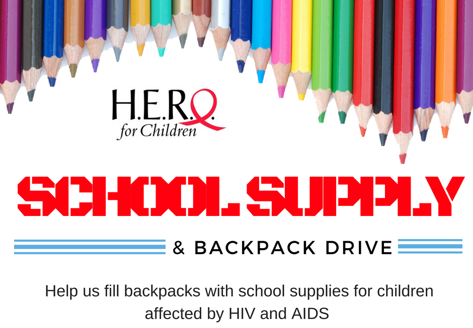 Back to School Supply Drive 20182