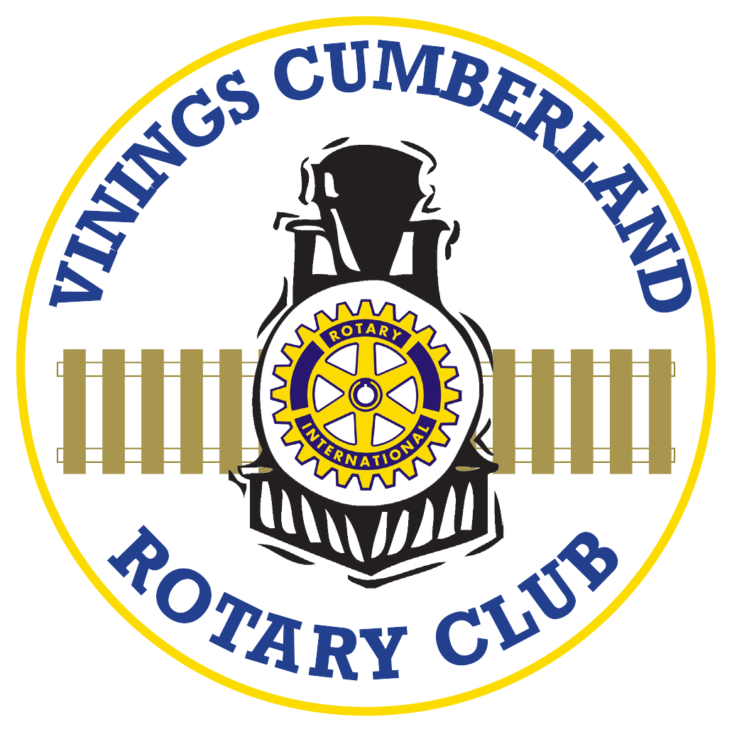 Vinings Rotary White Logo 2017